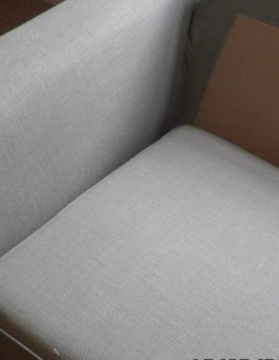 a cleaned (unwater marked) sofa