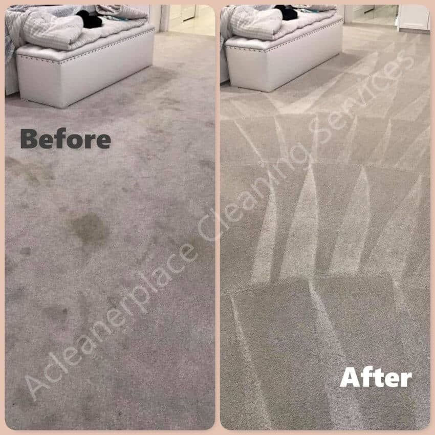 Carpet cleanliness in the home