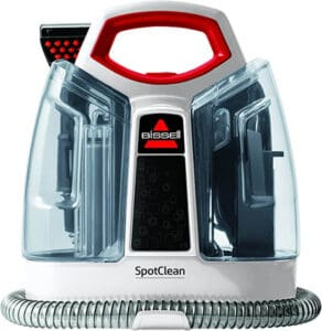 Photo of the Bissell spot cleaner machine