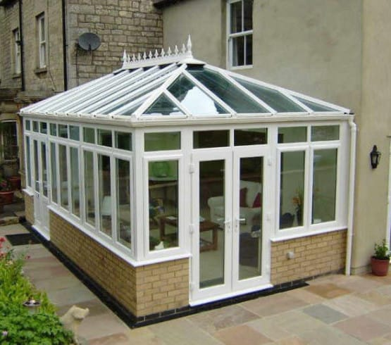 Conservatory cleaning, Stirlingshire
