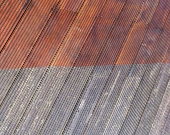 decking cleaned in Stirling